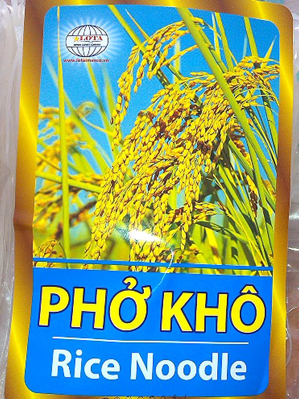 Phở khô xuất khẩu Lộc Tấn (Loại 1)