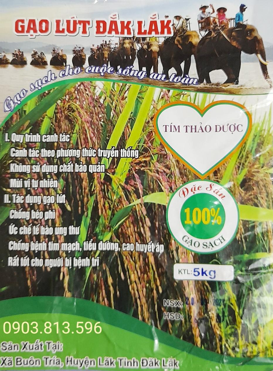 Gạo Lứt Đắk Lắk